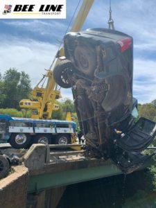 Heavy Duty Recovery off Autoroute 460