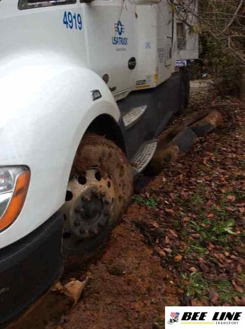 Tow Truck Company Heavy Duty Winching